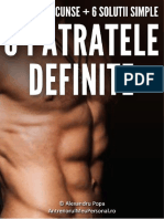 Cum sa ai un abdoment definit in 6 pasi simplii