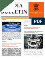 India Bulletin- May 2018