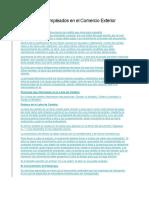 Documentos Empleados en El Comercio Exterior -