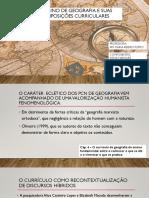 seminário geografia