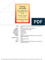 Working Knowledge - How Organizations Manage What They Kno.pdf