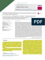Tribological Behaviour and Statistical Experimental Design of Sintered Iron–Copper Based Composites