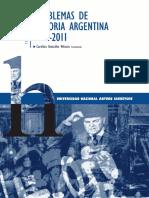 Problemas de Historia Argentina (1912-2011)