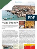Malta Intensiv Salzburger Nachrichten 04. September 2010 Berthold Schmid
