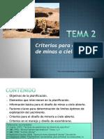 TEMA 2 Diseño de minas a cielo abierto.pdf