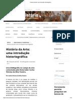 Bibliografia Comentada de História da Arte