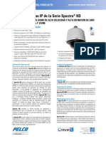 Spectra Full HD Series IP Dome System Specification Sheet - Spanish.pdf