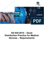 SS 620 - Good Distribution Practice for Medical Devices (GDPMDS) Transition_10.02.2017