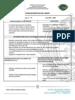 Ficha Descriptiva Del Grupo - Secundaria