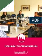 Catalogue Formation 2018 Web