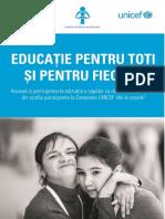 Educatia Pentru Toti Si Pentru Fiecare 2015