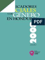 Indicadores Sociales y de Genero en Honduras