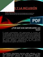 Las Tics y La Inclusión Social