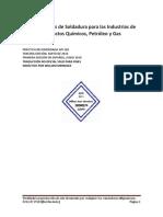 Lineamientos de Soldadura Para Las Industrias de Productos Qu Micos 2