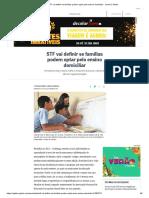 STF Vai Definir Se Famílias Podem Optar Pelo Ensino Domiciliar - Jornal O Globo