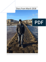 Dream Diary From 1st March 2018 -- (June Complete)
