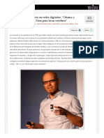 TICs M3 TheClinic Entrevista a Martin Hirbert