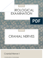 Neuro Exam Part