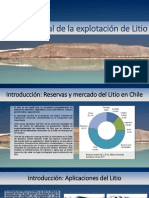 El Litio en Chile