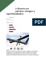 El Uso de Drones en Latinoamérica