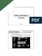 Lección VIII Cinética Metalúrgica 2da