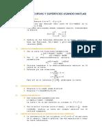 Graficas de Curvas y Superficies Usando Matlab