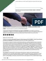 APROMES Renueva Su Acuerdo de Colaboración Con AIG _ Inese