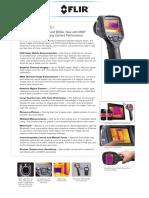 Camara Termografica Flir e Series Bx Datasheet