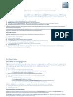CDM 2015 Summary
