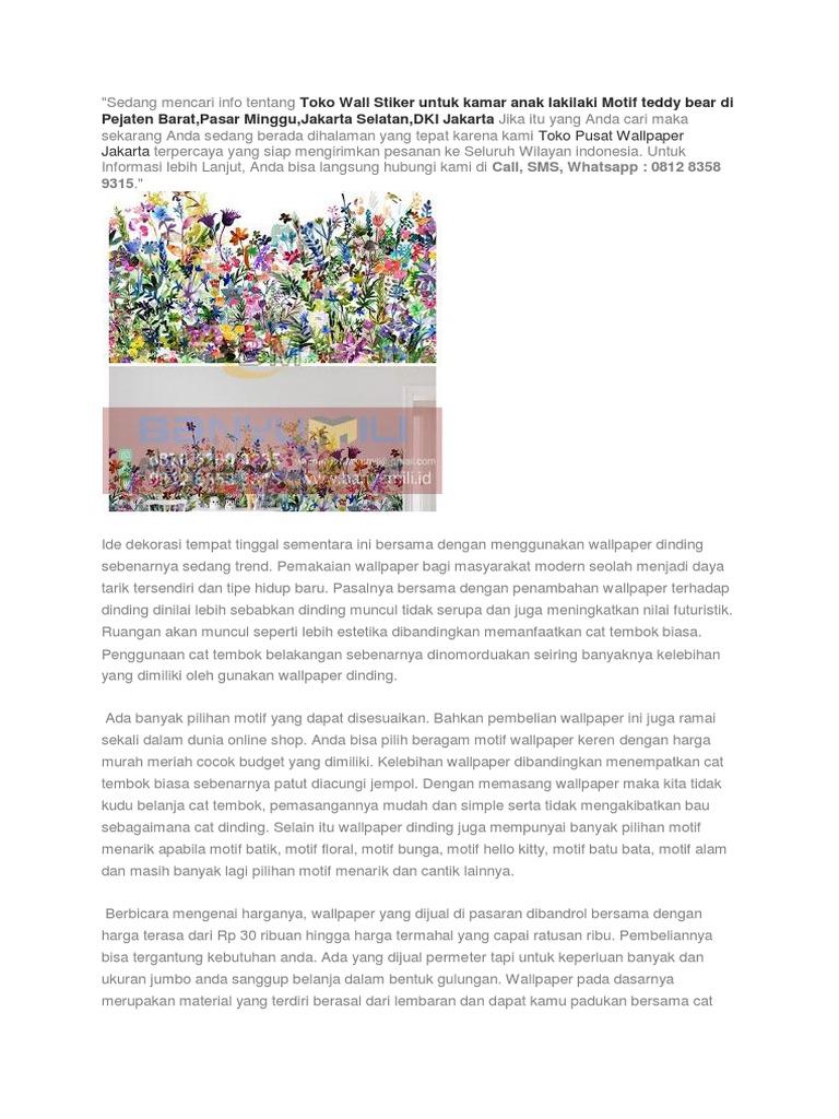 Sedang Mencari Info Tentang Wallpaper Di Jakarta