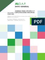 Global GAP Parte II - Normas Para Opcion 2 y Opcion 1