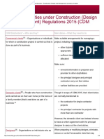Summary of Duties Under Construction CDM 2015_0