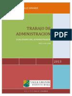 La Administracion Agricola