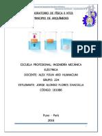 INFORME DE FÍSICA II N°3