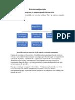 Estrutura e Operação