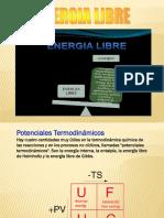 Energía libre (gibbs)