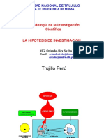Hipotesis de Investigacion