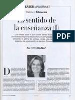 Diana Mazza El Sentido de La Enseñanza