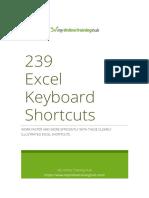 239 Excel Shortcuts for Windows - MyOnlineTrainingHub