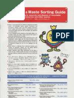 Garbage Sorting Guidebook