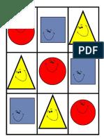 Loteria de Figuras Geometricas
