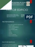 Factor Edificio Ppt