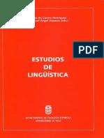 DO CARMO Henriquez Maria Y ESPARZA Miguel Angel - Estudios de Linguistica