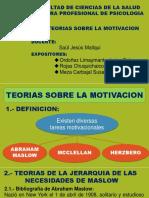 Teorias de La Motivacion2