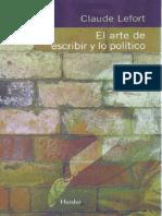 208466217 Claude Lefort Maquiavelo y La Verita Effetuale
