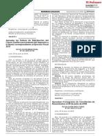 RD 021-2018-EF - Aprueban Cronograma de Conciliación de Desembolsos Al 30 de Junio de 2018
