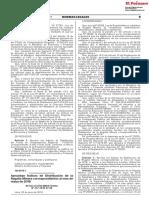 RM 237-2018-EF - Aprueban Índices de Distribución de La Regalía Minera Correspondientes Al Mes de Mayo de 2018