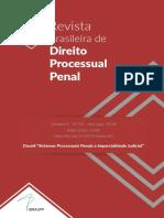 Revista Direito Processual Penal v4 n2