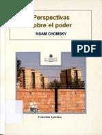 Perspectivas Sobre El Poder Chomsky Noam