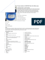 Product Details of ACRATEX Paint 16L White Latex